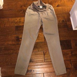 Motherhood maternity skinny jeans sz S